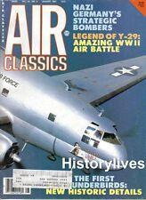 Air Classics Magazine Aug.87 Nazi Bombers Y-29 Bodenplatte Luftwaffe Thunderbird