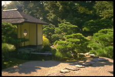 334029 TAKAMATSU ritsurin PARK stepping Stones al tè Pavilion A4 FOTO STAMPA