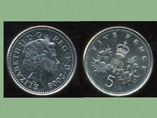 ROYAUME UNI   five   5  pence 2008   ( bis )