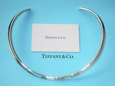 Tiffany & Co 1837 Sterling Silver Collar Cuff Necklace