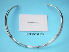 Tiffany & Co 1837 Argento Sterling Colletto Collana Bracciale