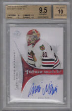 09-10 SP Authentic Antti Niemi Future Watch Rookie RC #212 BGS 9.5 auto 10  /999