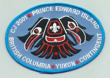 2001 Canada Scout Jamboree - BRITISH COLUMBIA & YUKON SCOUTS Contingent Patch
