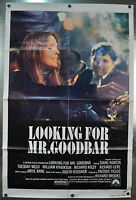 Looking For Mr. Goodbar Original Movie Poster 1977 27 x 40 Rolled Folded