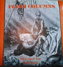 """FLESH COLUMNS SCHWEIGEW 7"""" RARE 1984 HC Touch & Go Necros Negative Approach"""