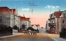 Hof. i. B. Schillerstrasse gelaufen als Feldpost 1940