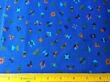 Vintage Fabric Northern Lights Native American Motif geometric blue Cranston