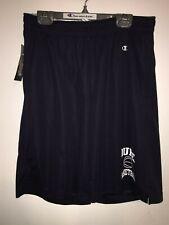 Champion DUKE BLUE DEVILS Navy Blue Mesh Basketball Shorts Size Small *428502011