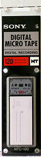 SONY NTC120  Digital Micro Tape DAT FOR USE IN SONY NT1 & NT2 Micro Recorders NT