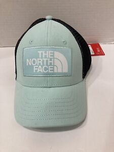 The North Face Youth Unisex Mudder Trucker Hat Costal Gredn one size
