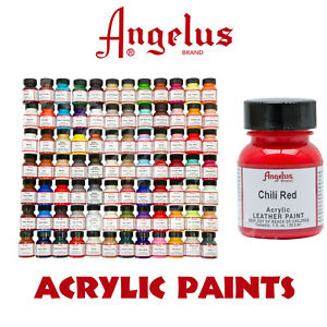 AngelusAcrylic paints - HUGE color range (over 50 colors to choose from)