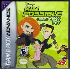 GBA Kim Possible ( 2002 ), Nintendo of America, Brand New & Factory Sealed
