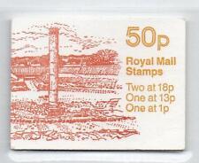Gb 1986-87 Fb37 Roman Britain Series 50P Folded Booklet