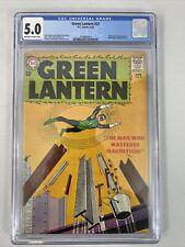 Green Lantern 🔥 #21 (1963) CGC 5.0! 1st App & Origin Of Dr Polaris! DC Comics!