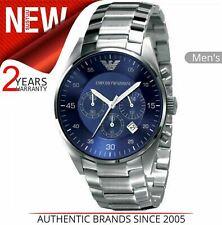 Emporio Armani Sportivo Men's Watch¦Blue Chronograph Dial¦Bracelet Band¦AR5860