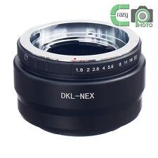 DKL-NEX Voigtlander Retina Deckel Lens to Sony NEX-7 5T A7 A7RII a6000 Adapter