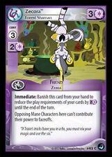 3x Zecora Forest Shaman 43 C - My Little Pony High Magic MLP CCG