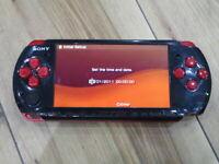 Sony PSP 3000 console RedxBlack Japan B632