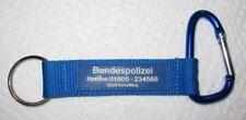 Bundespolizei Schlüsselanhänger Keychain NEU (A52v)