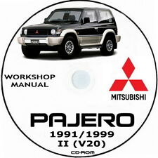 PAJERO II (V20) Workshop manual.Manuale officina Mitsubishi Pajero V20