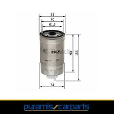 NEU 1x BOSCH Kraftstofffilter-1457434106 passend für Audi,Ford,Opel (€19,95/EH)