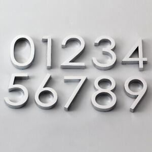 6cm Door Number Sign Stickers Self Adhesive 0-9 Digital Apartment Home Decor DIY