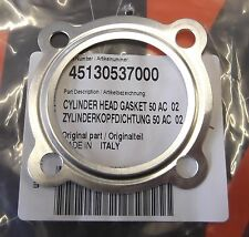 Genuine KTM SX50 Junior Senior A/C Cylinder Head Gasket 45130537000