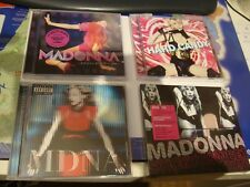 MADONNA Lot 4 CD's: Sticky & Sweet Tour, MDNA, Hard Candy, Confessions On...