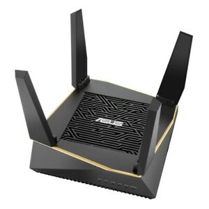 Used Asus RT-AX92U AX6100 Tri-Band WiFi 6 (802.11ax) AiMesh Gaming Router