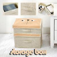 Linen Household Storage Bag Clothes Blankets Baskets Storage Box Organizer Bags