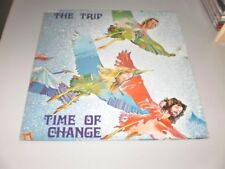 THE TRIP - TIME OF CHANGE -  RARE PROG ITALY 1st PRESS - ORIGINAL TRIDENT PRESS