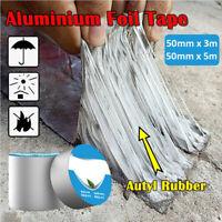 Aluminum Foil Waterproof Tape Butyl Seal Rubber High Super Strong Roof Repair AU