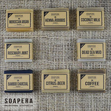 8 x shampoo bars -All natural Cold process vegan soap-Free shipping Aussie  made