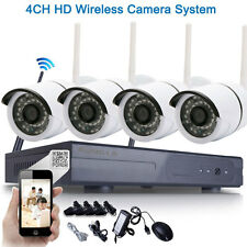 WIFI 720P Wireless NVR HD Outdoor Security IP Camera CCTV Security System Home