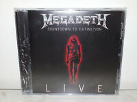 MEGADETH - COUNTDOWN TO EXTINCTION LIVE - NUOVO NEW - CD