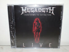 CD MEGADETH - COUNTDOWN TO EXTINCTION LIVE - NUOVO NEW