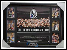 Collingwood 2016 Official AFL Team Print Super Frame Dane Swan Scott Pendlebury