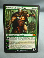 MTG Magic the Gathering Card X1: Garruk Caller Of Beasts Mythic Rare - M14 EX/NM
