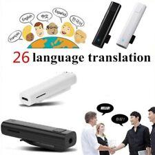 Traduttore Simultaneo Vocale Istantaneo Portatile Elettronico 26 lingue