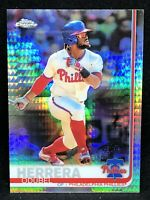 2019 Odubel Herrera Topps Chrome Refractor Baseball Card #103