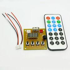 MP3 WAV Decoding Board Module Wireless Player Audio USB Board W. Digital Remote