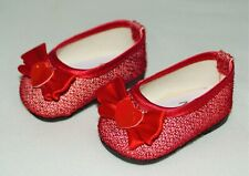 Shoes Glitter Dress Red For 18 in American Girl Doll  Accessories Clothes