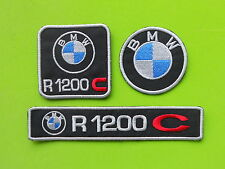 BMW R1200 C KIT 3 PATCH TOPPE RICAMATE TERMOADESIVE