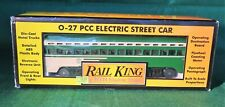 Rail King by MTH San Francisco Electric PCC Car Item 30-2504-0