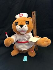 """Mills 12"""" Animated Lion Nurse Dances and Sings """"Let's Get Physical"""" 2009"""