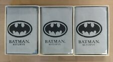 Batman Returns 3 Coin Set- Catwoman Penguin 999 Fine Silver Limited 1992