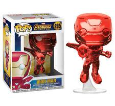 Marvel Avengers Infinity War Red Chrome Iron Man POP! Vinyl Figure #285