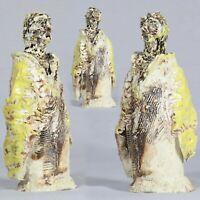 Gilde Bad-Deko Skulptur halbe Muschel Keramik weiß silber Breite 20cm Höhe 16cm