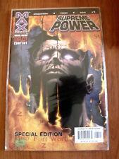 SUPREME POWER n°1 special Edition Marvel Comics  [SA33]