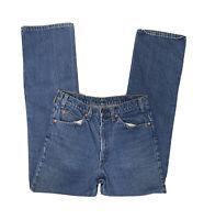Vintage 1970's Levi's 20517-0217 Orange Tab Denim Jeans 33X33 Excellent Cond